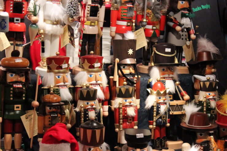 Nutcrackers Found at the German Christmas Market in Chicago