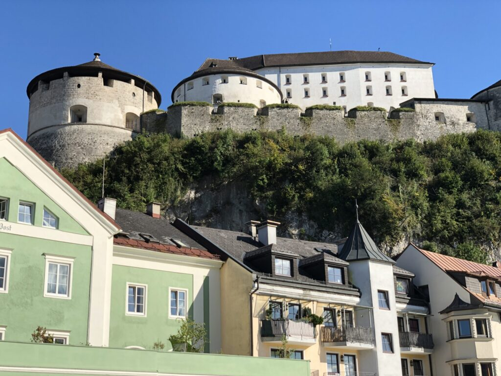 Kufstein Fortress View from Bridge
