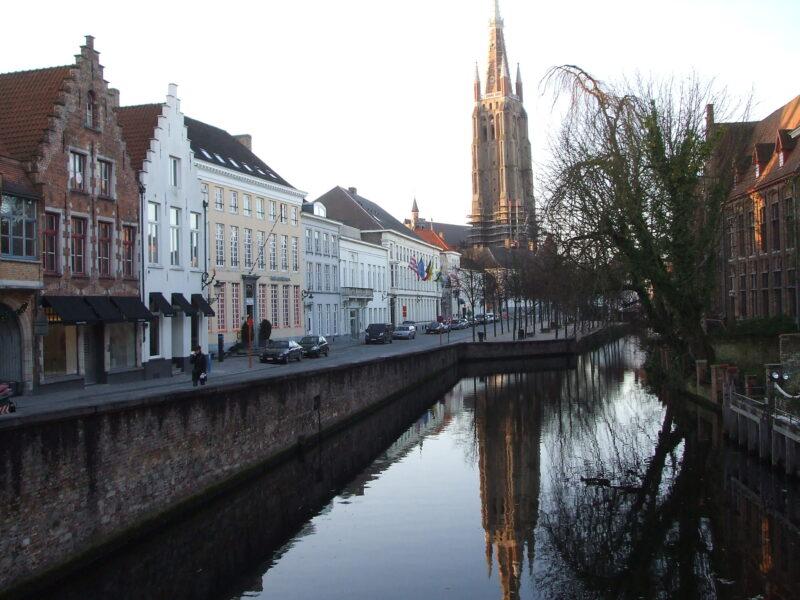Canal at Bruges Belgium