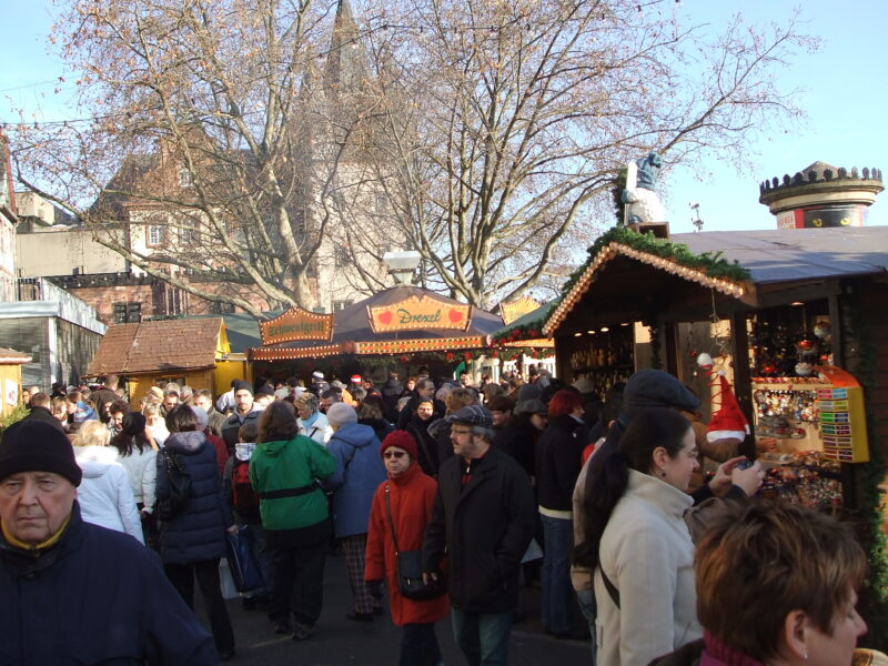 Christmas Market Frankfurt Germany