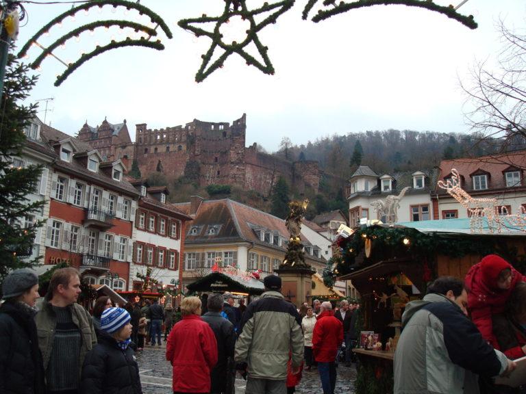 Heidelburg Germany Christmas Market