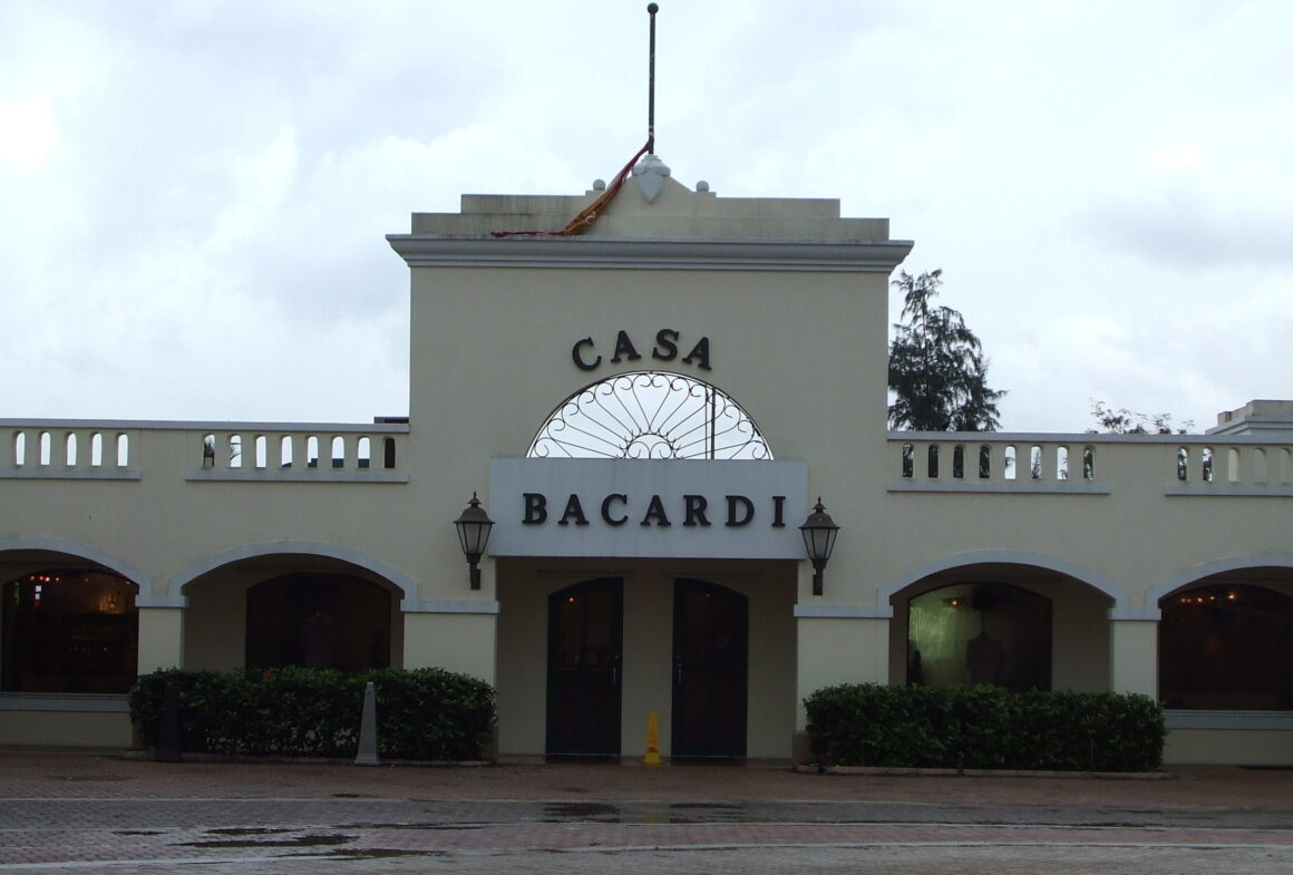 Entrance to the Bacardi Rum Distillery