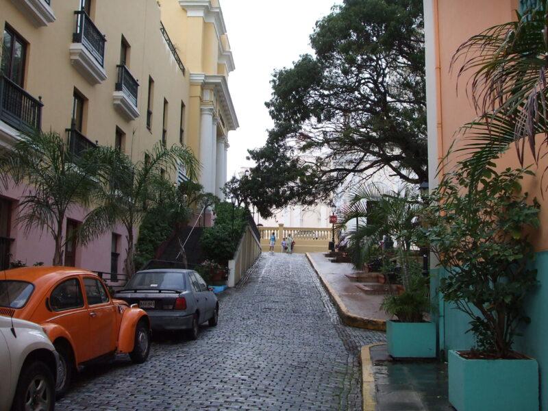 Old San Juan Puerto Rico Street