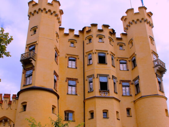Hohenschwanstein Castle in Germany
