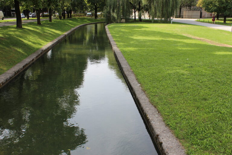Water Channels at The English Gardens in Munich