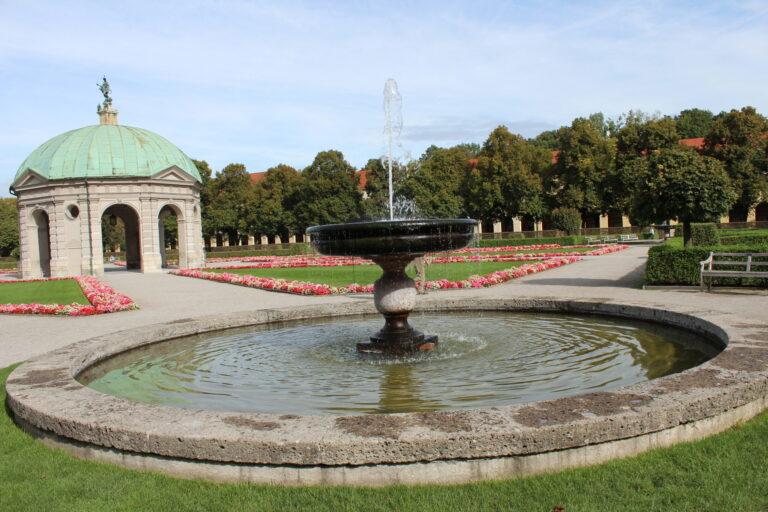 Water Fountain in Hofgarten