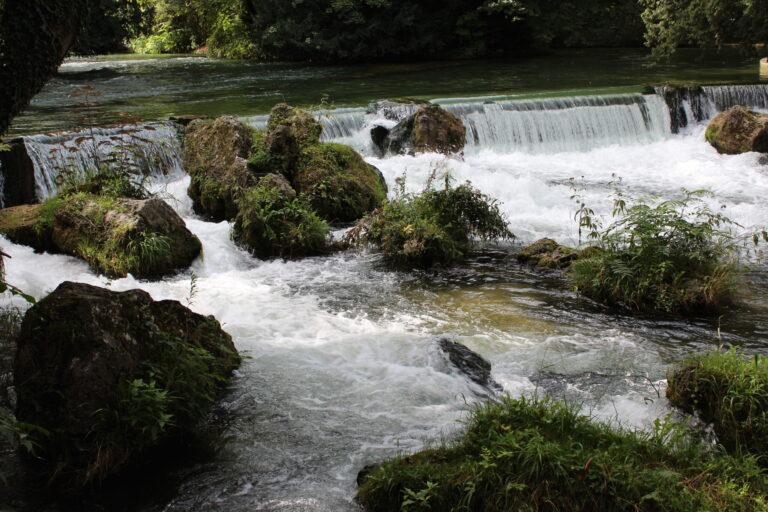 Waterfalls at English Garden in Munich
