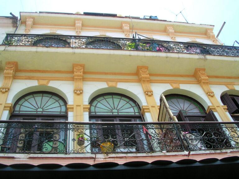 Apartment Building in Havana Cuba