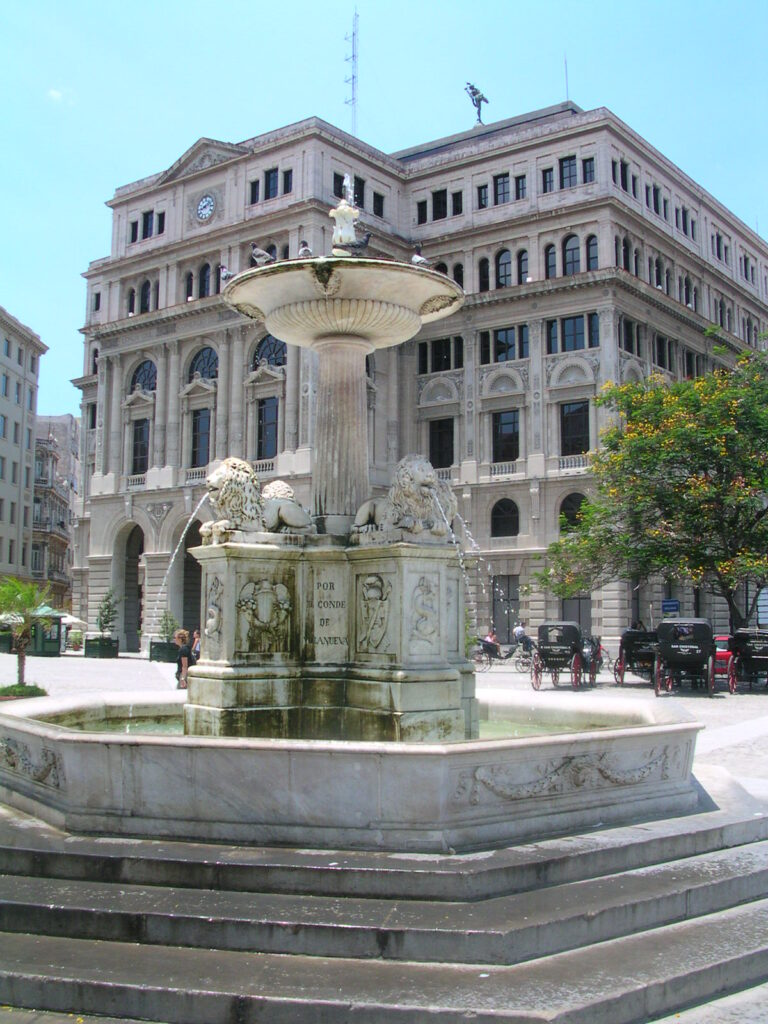 Fountain in Havana Cuba