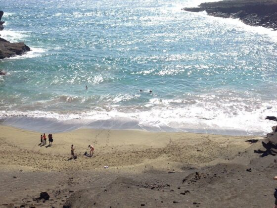 Green Sand Beach at Hawaii's South Point 1