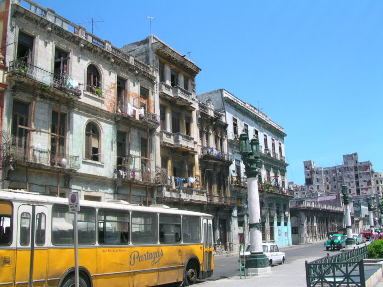 Havana Cuba Bus