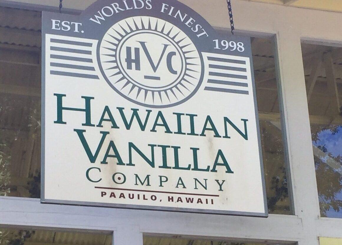 Hawaiian Vanilla Company 6 on the Big Island's Hamakua Coast