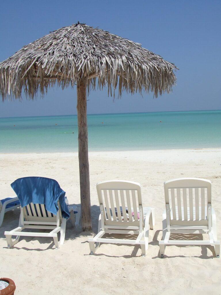 Santa Clara Cuba Beach Chairs