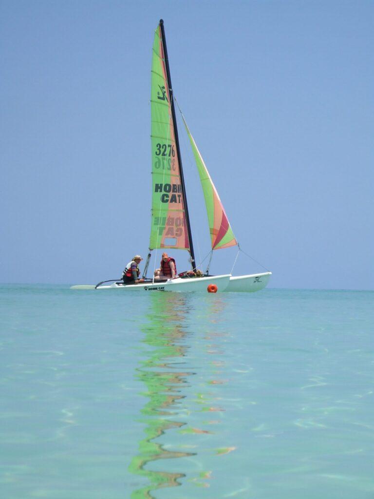 Santa Clara Cuba Sail Boat