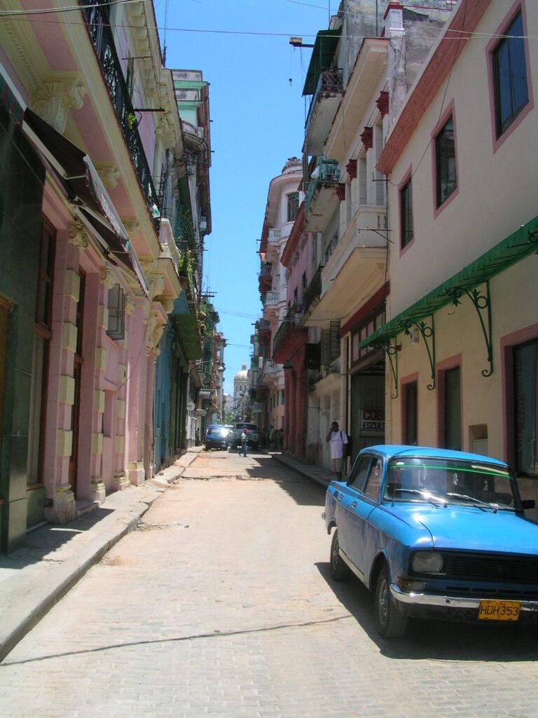 Side Street in Havana Cuba