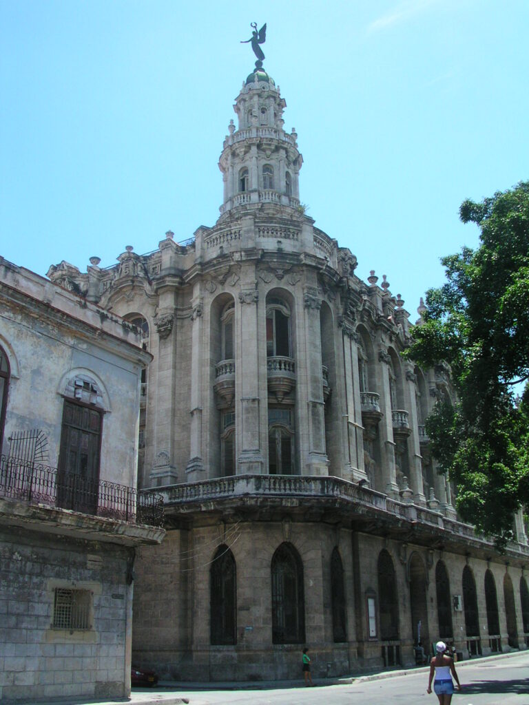 The Grand Opera House in Havana Cuba
