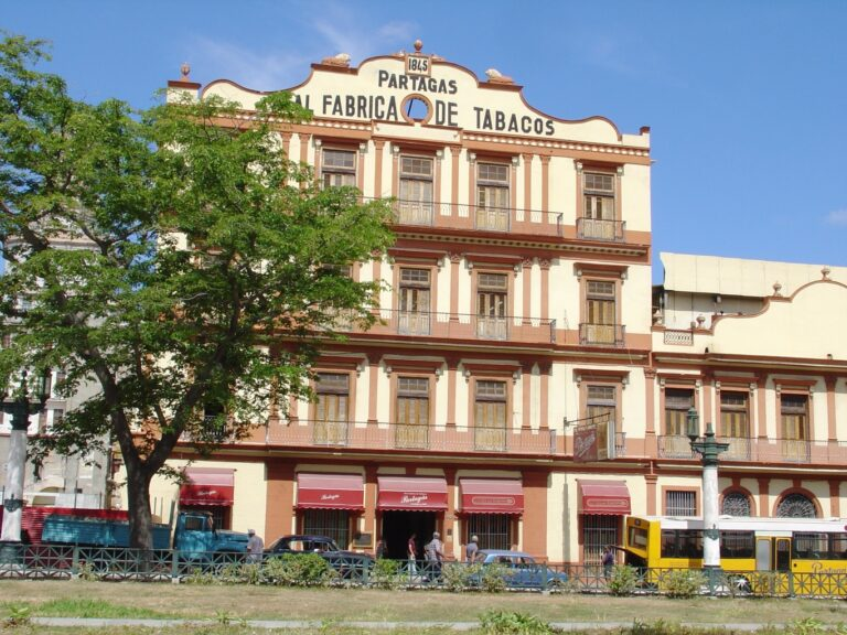 The Partagas Factory Havana Cuba