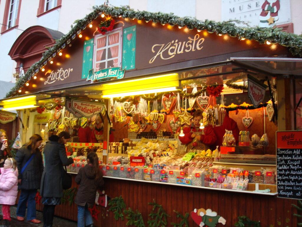 Heidelberg Germany Christmas Market in Old Town