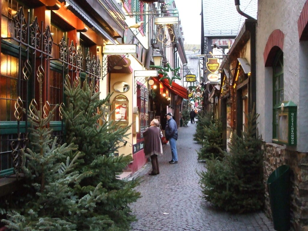 Rüdesheim Germany During Christmas
