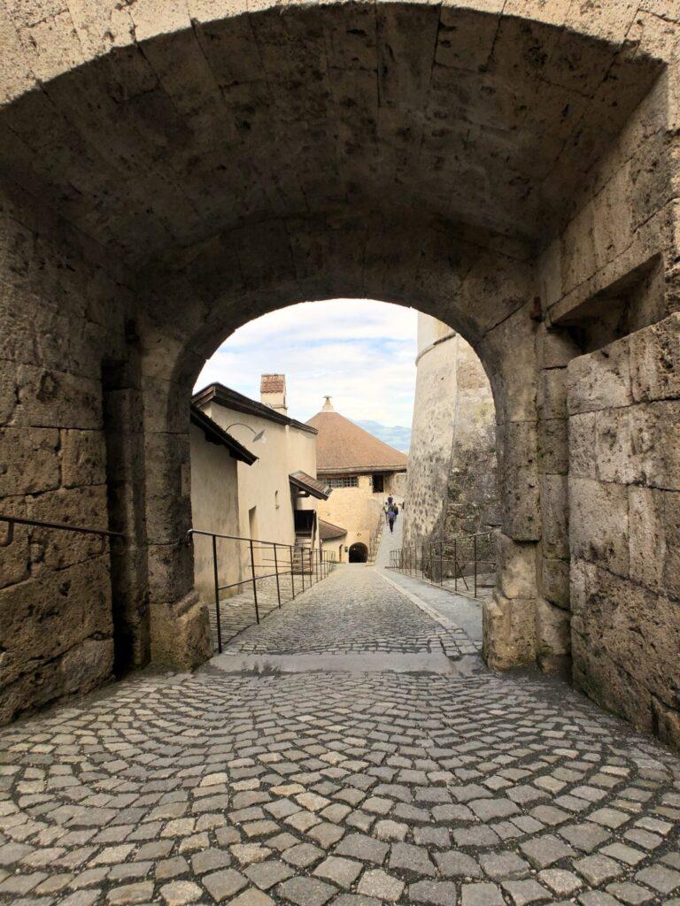 Path in Kufstein Fortress