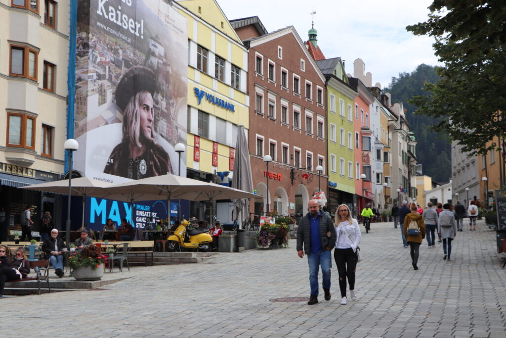 Kufstein Main Old Town Square