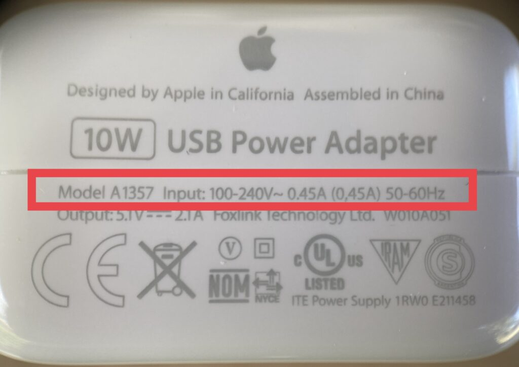 Image of Apple Power Adapter