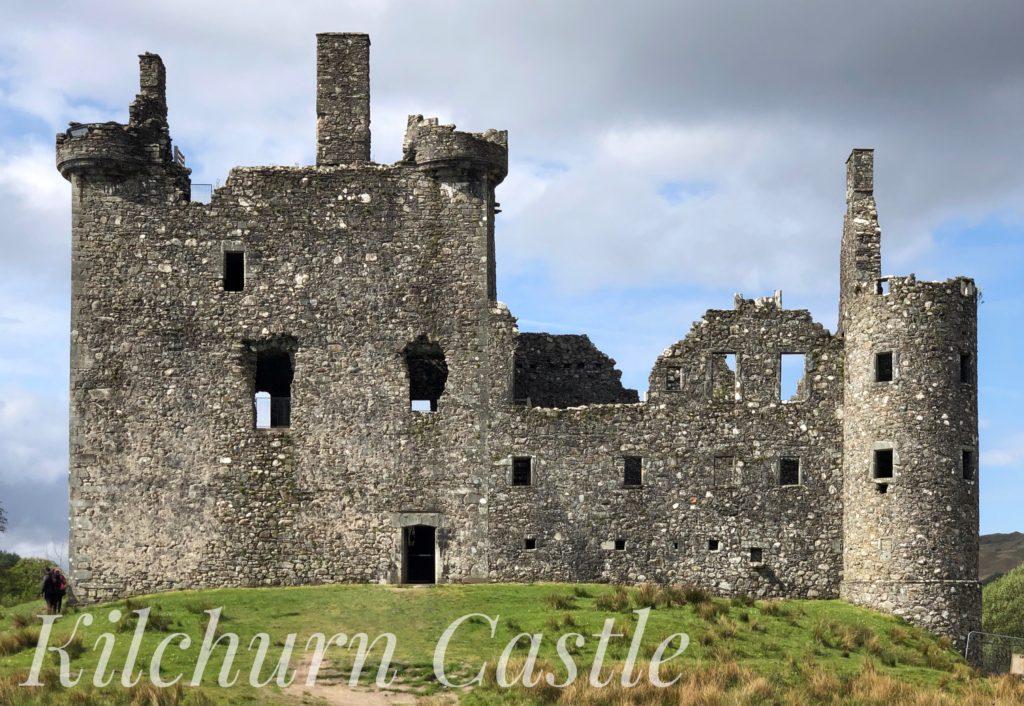 Kilchurn Castle, near Dalmally in Argyll, Scotland