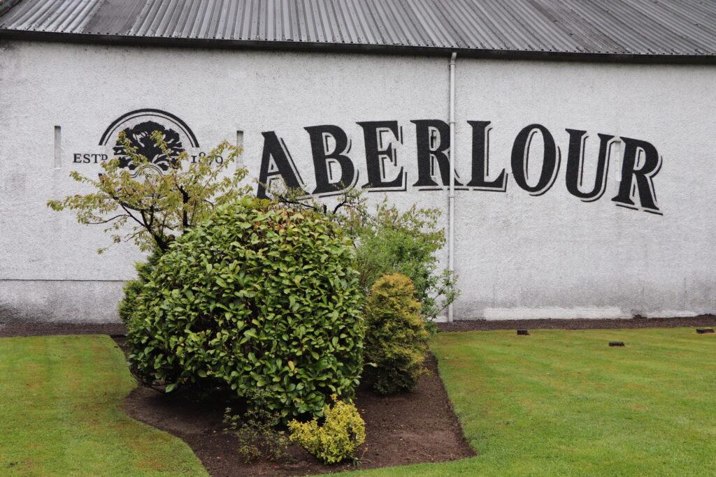 Aberlour Distillery located in Speyside Scotland