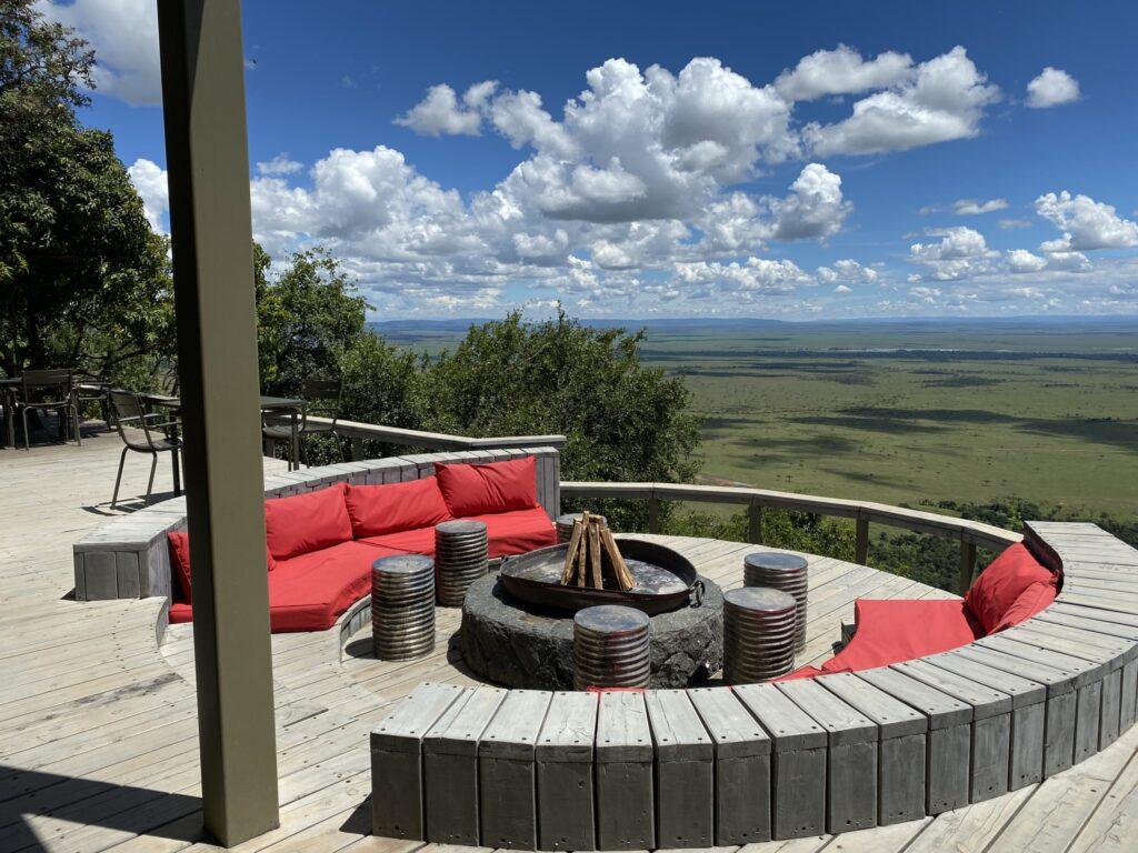 Angama Mara Fire Pit in the Maasai Mara of Kenya