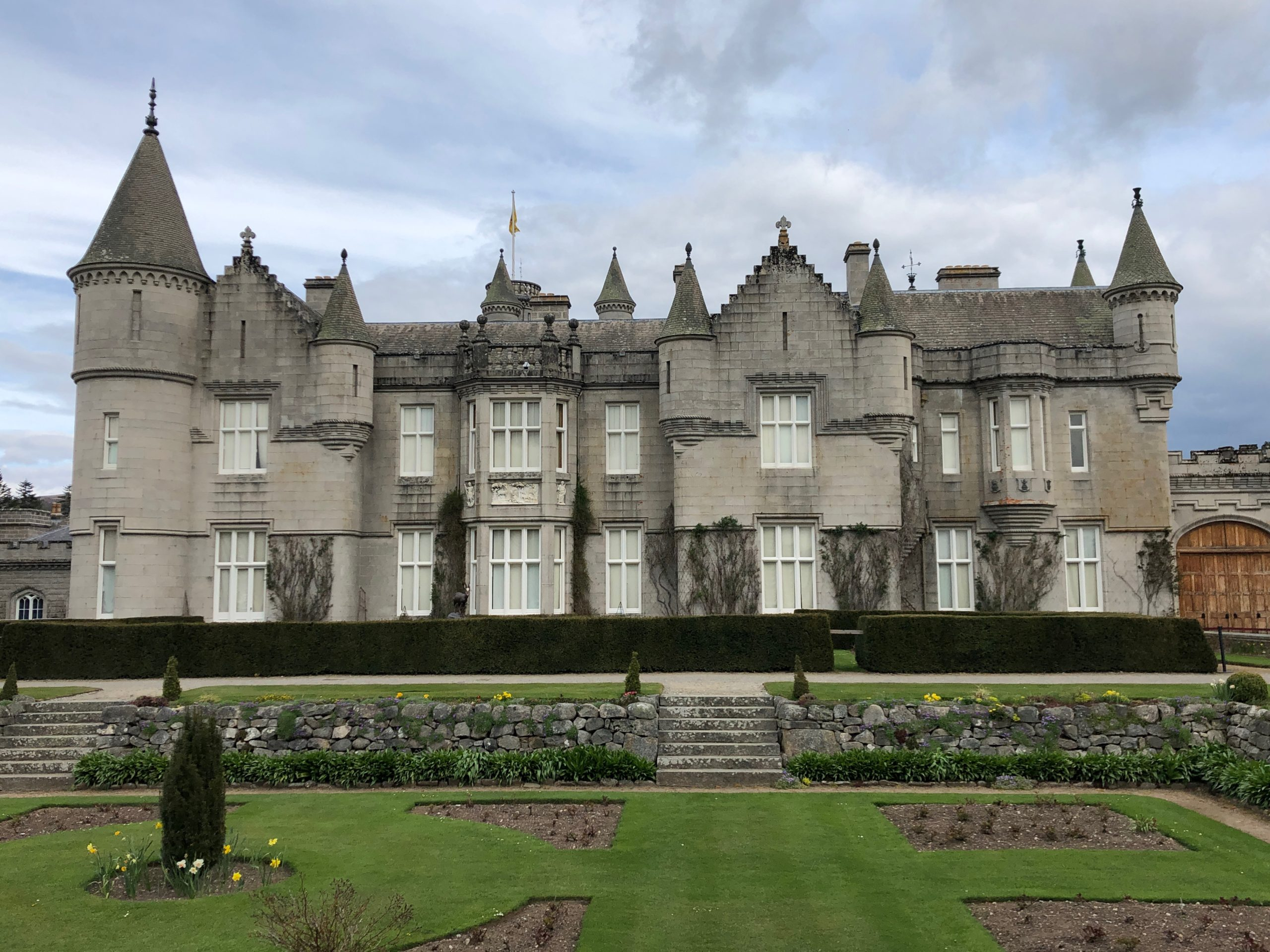 Balmoral Castle in Aberdeenshire, Scotland