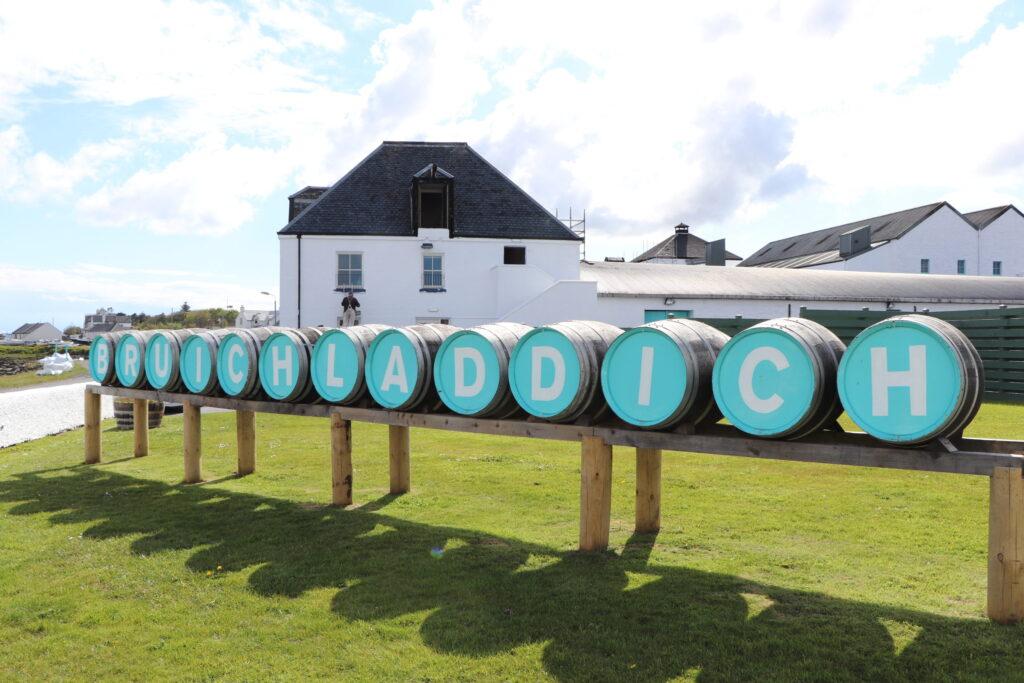 Bruichladdich Distillery in Islay Scotland
