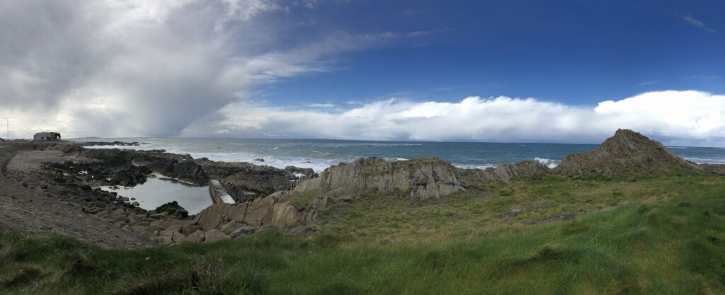 Buckie on the Moray Firth Coast in Speyside Region of Scotland