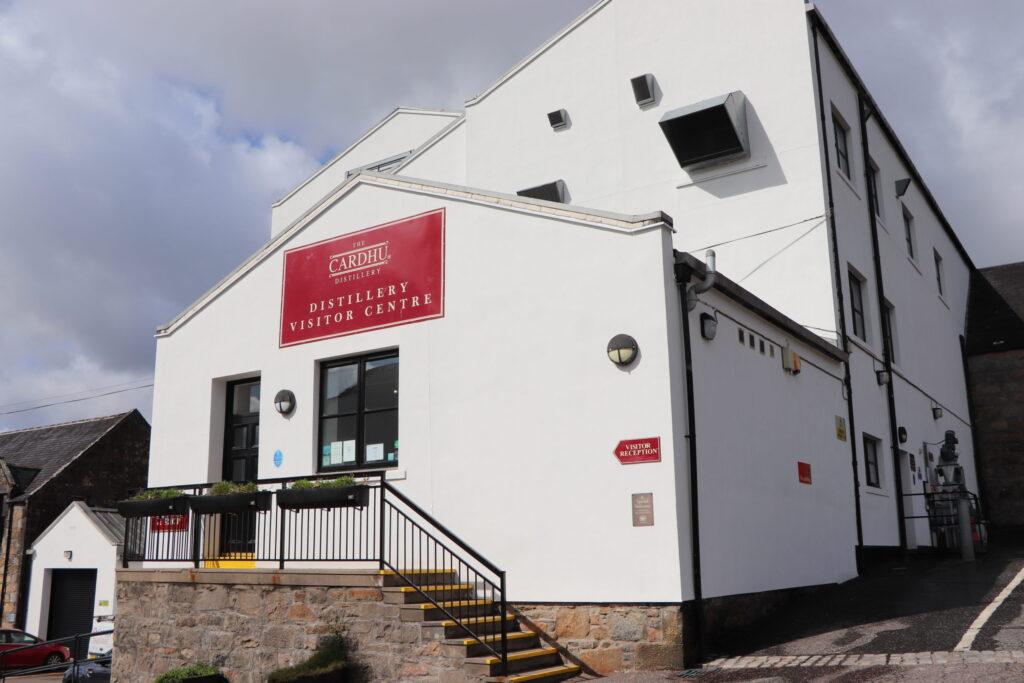 Cardhu Distillery located in Speyside Scotland