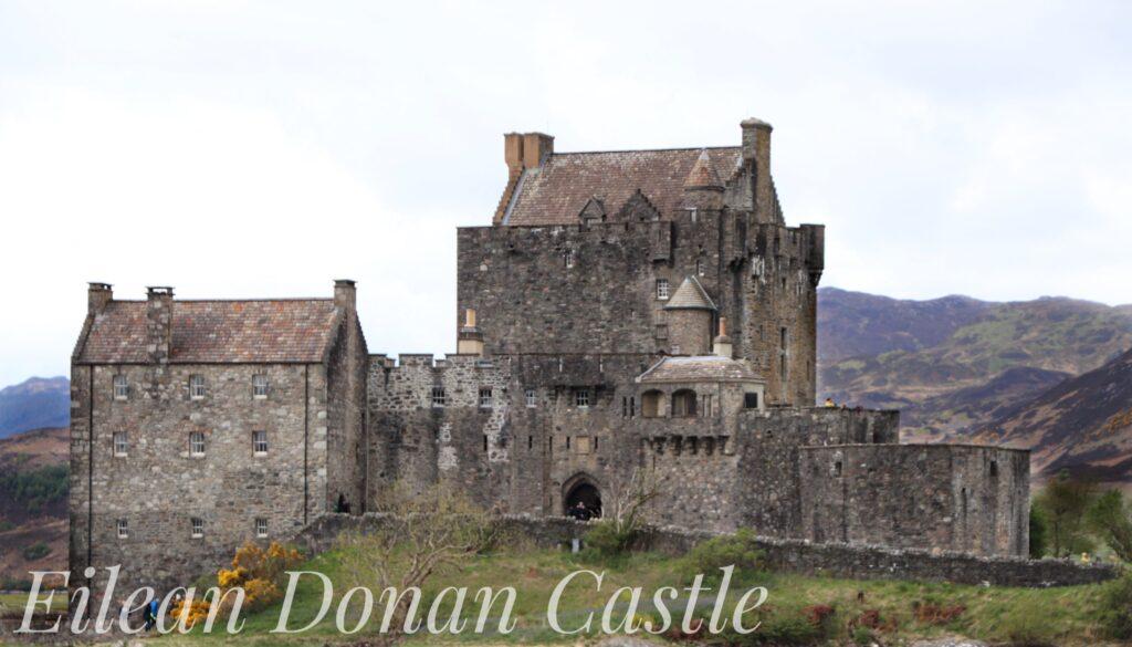 Eilean Donan Castle, in the western Highlands of Scotland