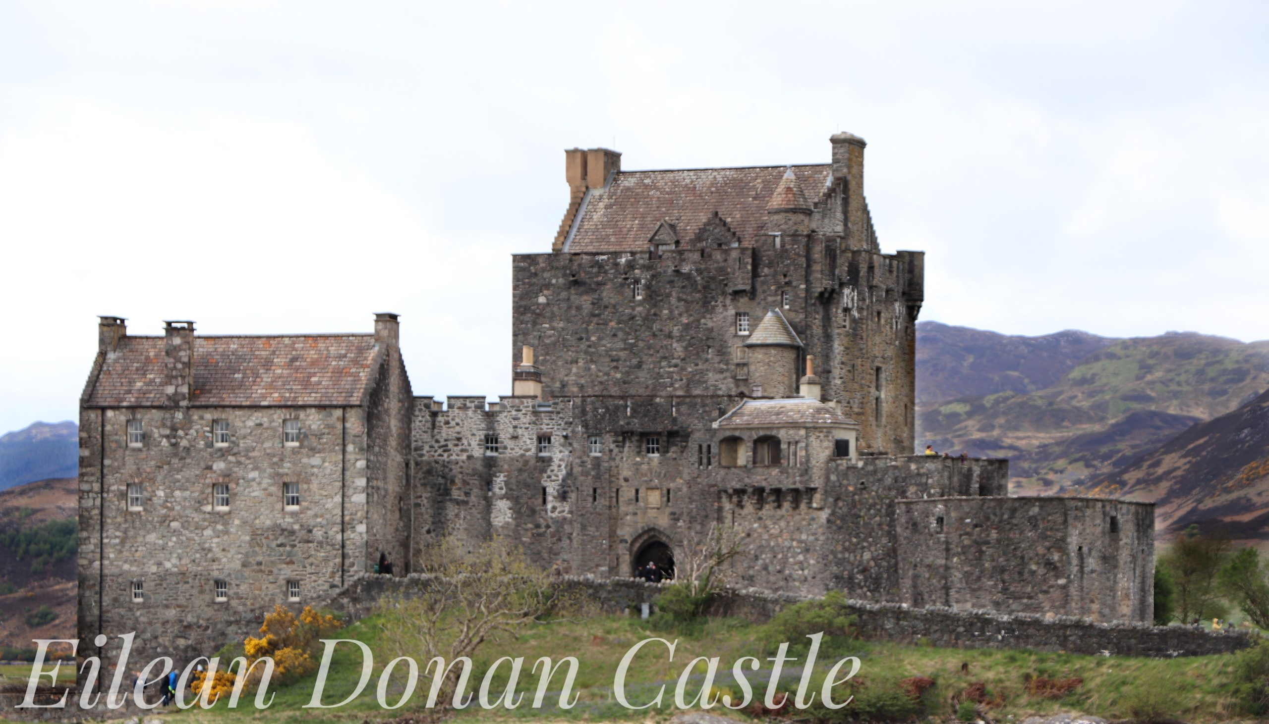 Eilean Donan Castle in the western Highlands of Scotland