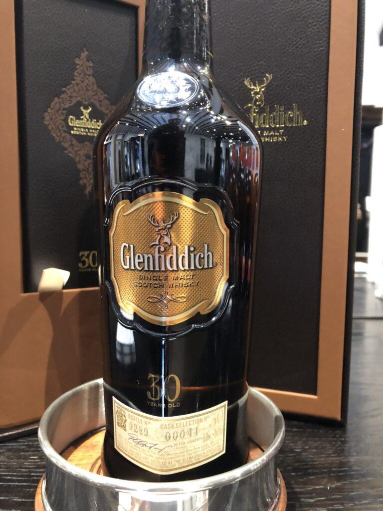 Glenfiddich 30 year old from the Speyside Region of Scotland