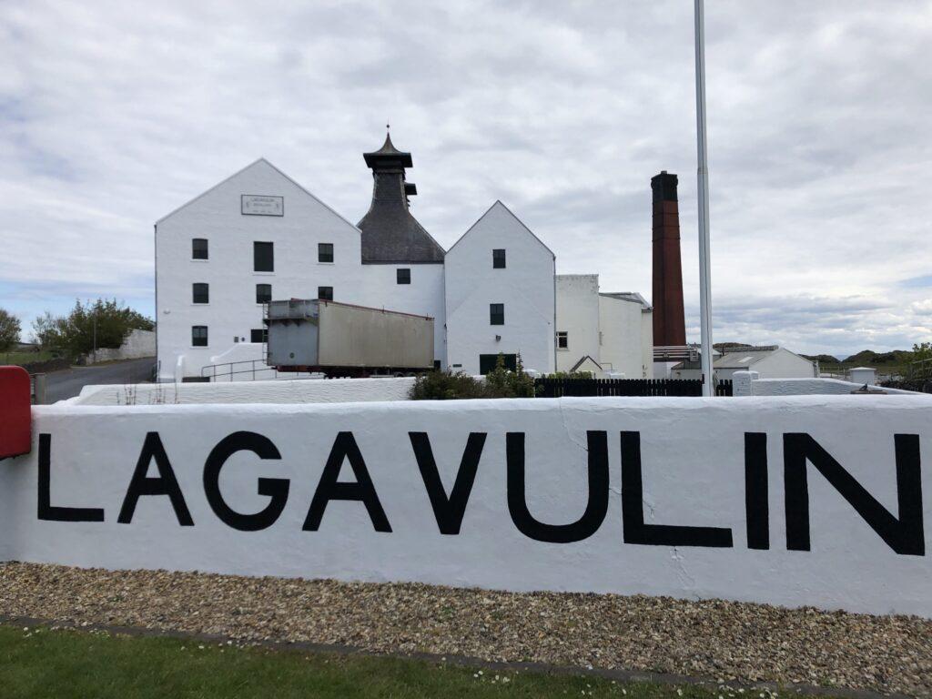 Lagavulin Distillery in Islay Scotland
