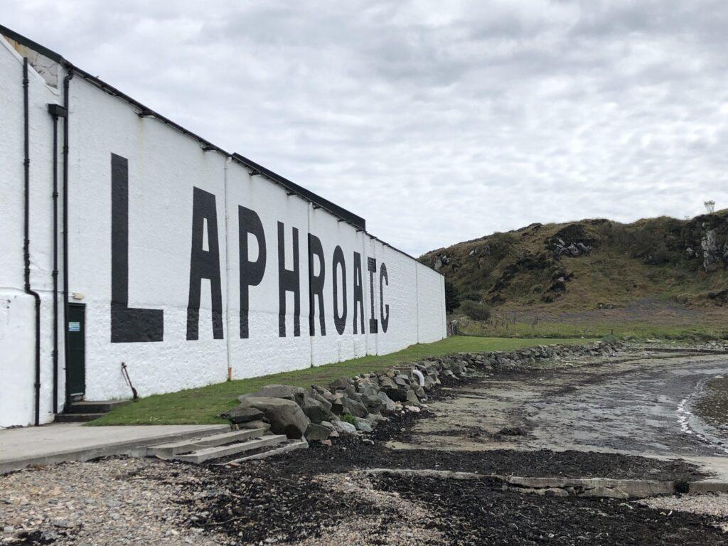 Laphroaig Distillery in Islay Scotland