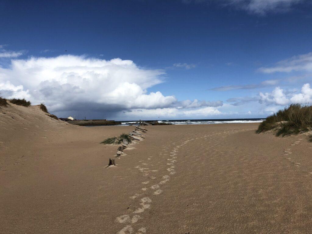 Lossiemouth Beach in the Speyside Region of Scotland