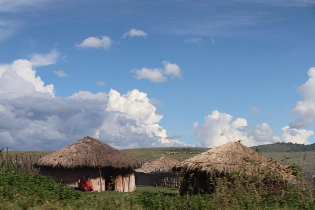 Maasai Village in Ngorongoro Crater, Tanzania