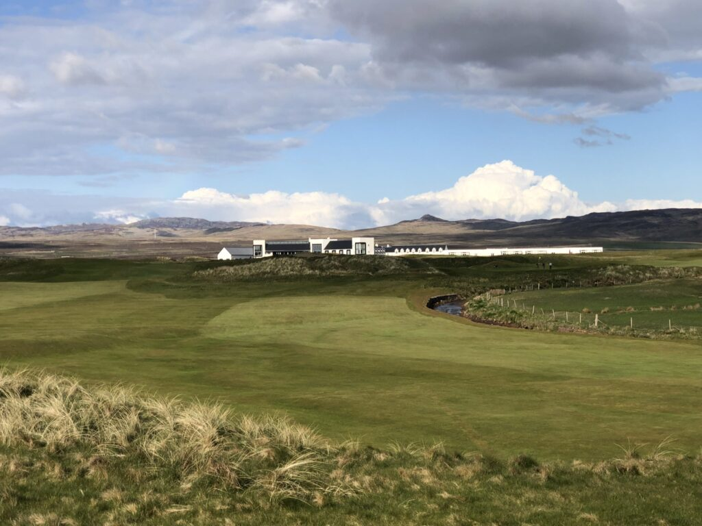 Machrie Hotel and Golf Links in Islay Scotland