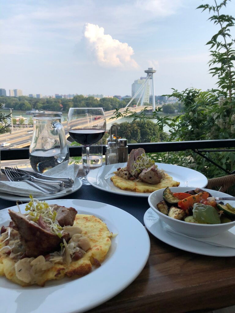 Modra Hviezda Restaurant in Bratislava Slovakia