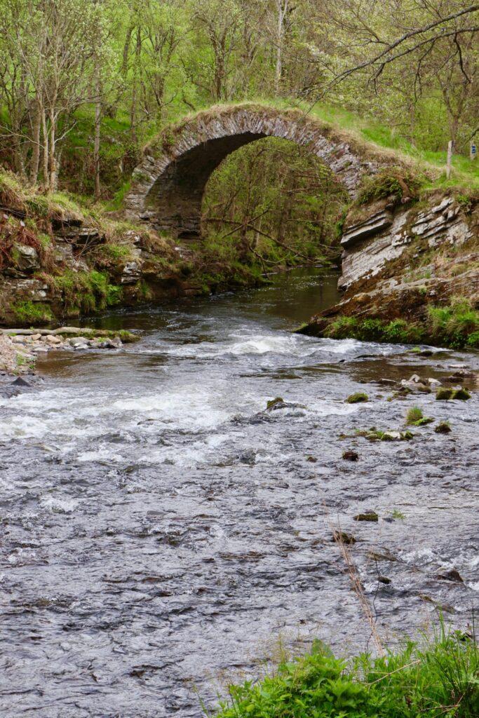Old Packhorse Bridge Scotland