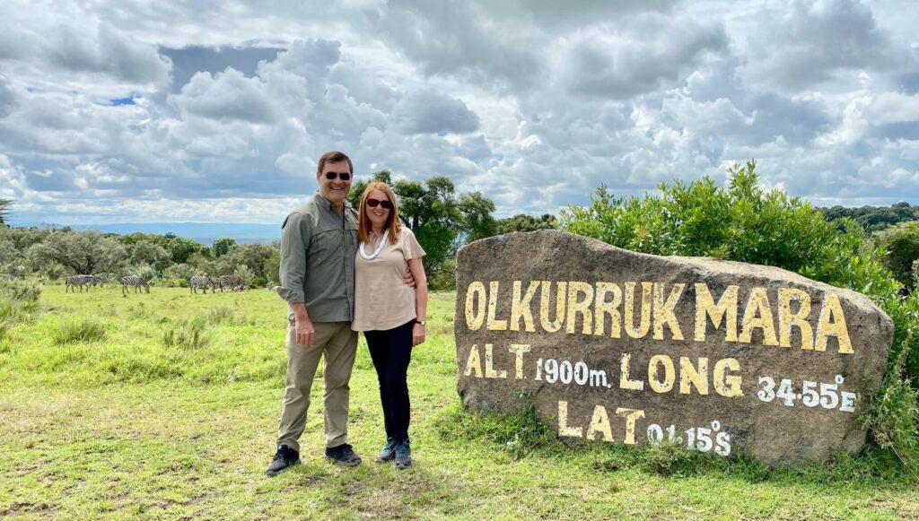 Olkurruk Mara Airstrip Marker in Maasai Mara Kenya