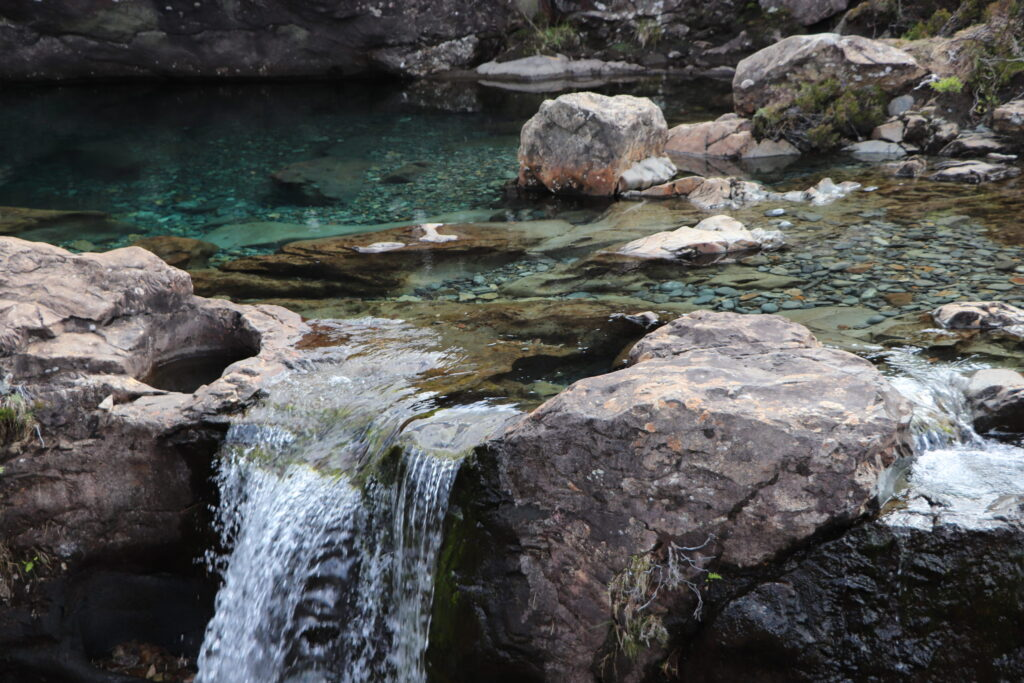 Reflecting Water at Fairy Pools at the Foot of the Black Cullins