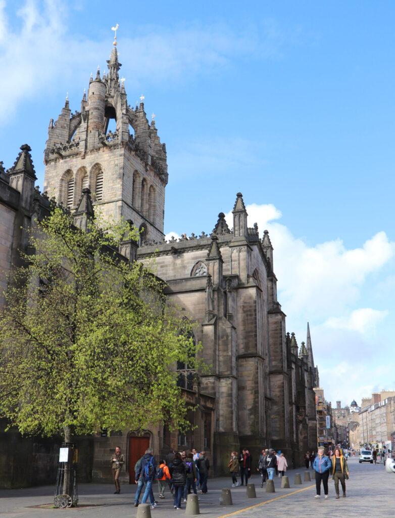 St Giles Cathedral Edinburgh Scotland
