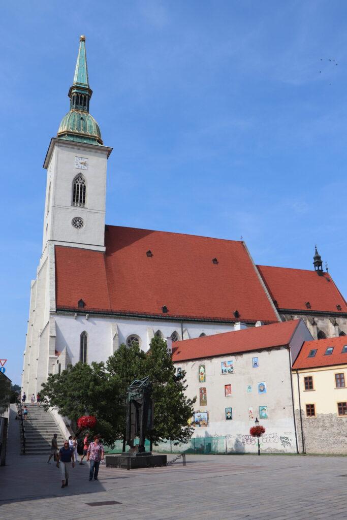 St Martin's Cathedral in Bratislava Slovakia
