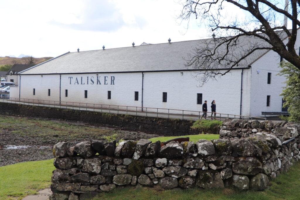 Talisker Distillery at Carbost - Isle of Skye Scotland