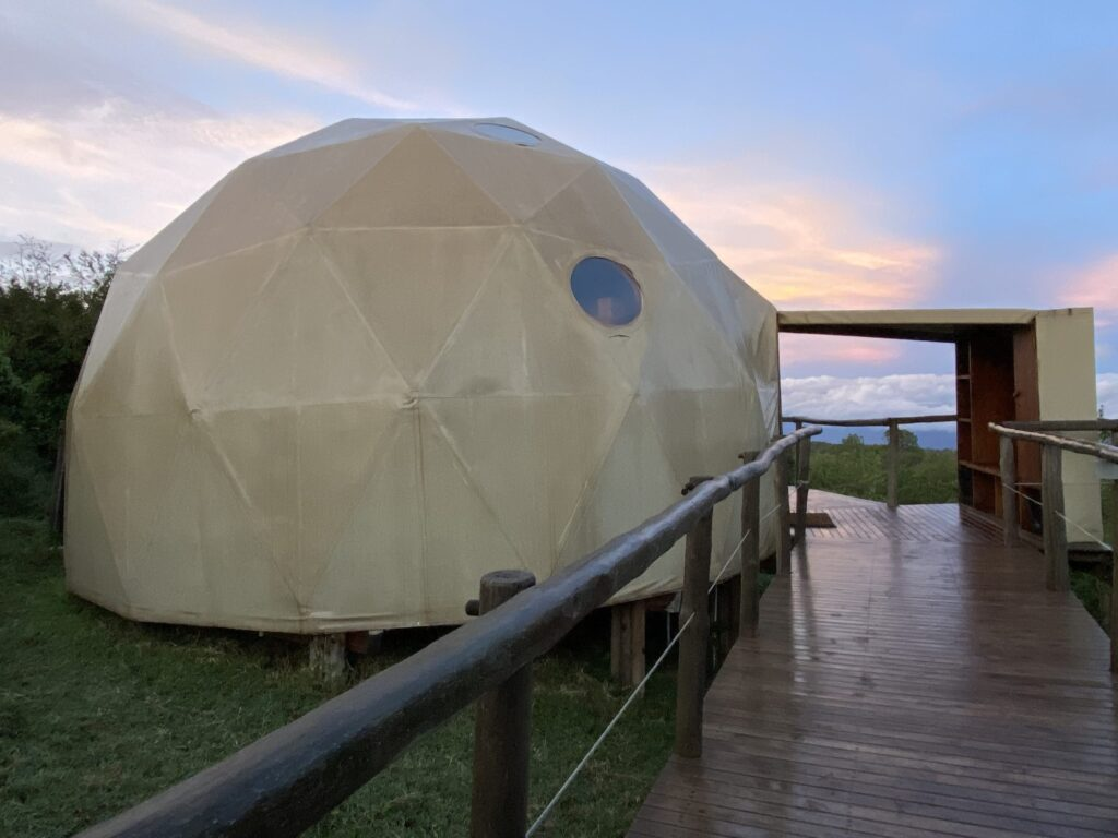 Tent at the Highlands Camp at the Ngorongoro Crater, Tanzania