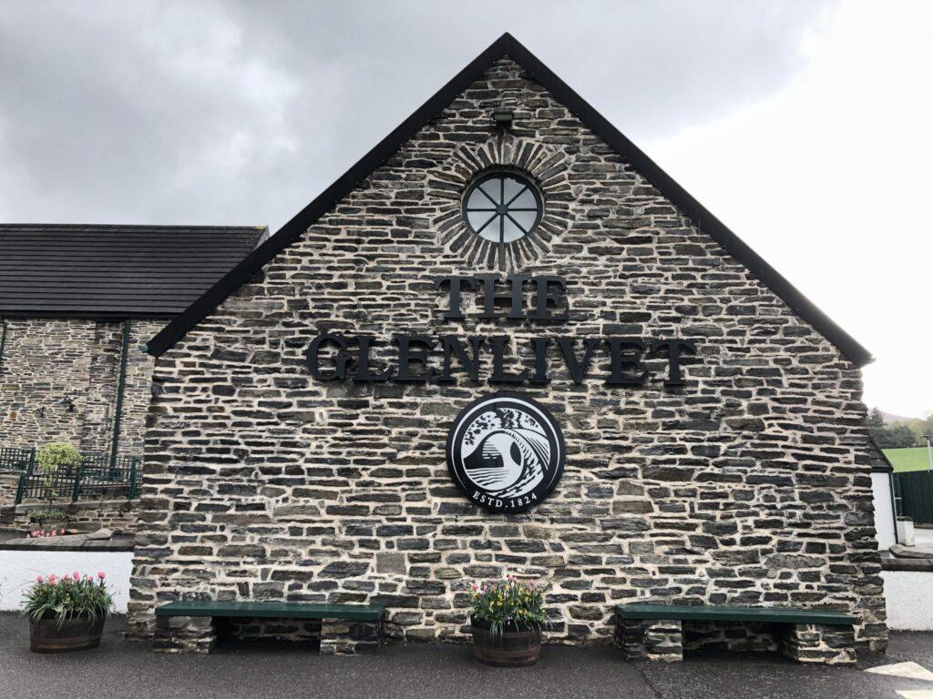 The Glenlivet Distillery Visitor Centre in the Speyside Region of Scotland